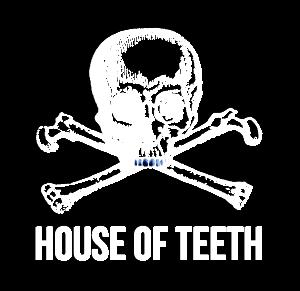 House of Teeth Logo Skull and Crossbones