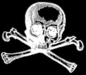 embossed-skull